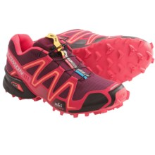 Salomon Speedcross 3 Trail Running Shoes (For Women) in Boardeaux/Dynamic/Papaya - Closeouts