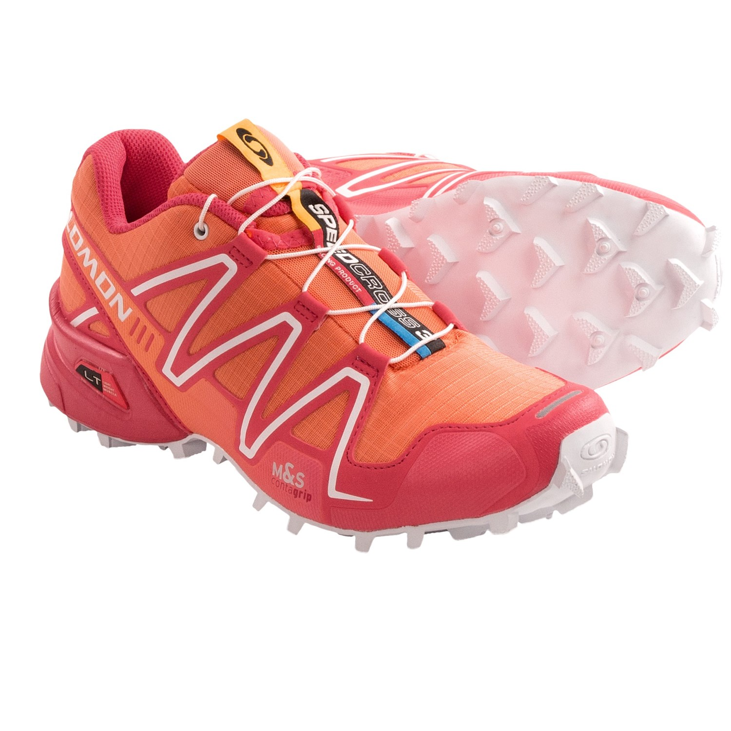SALOMON Women's XR Mission Trail Running Shoes - image 4 from the video