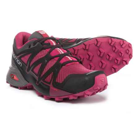 Salomon Speedcross Vario Trail Running Shoes (For Women) in Sangria/Magnet/Beet Red - Closeouts