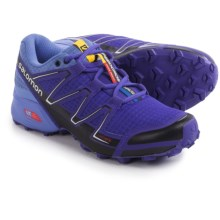 Salomon Speedcross Vario Trail Running Shoes (For Women) in Spectrum Blue/Petunia Blue/Black - Closeouts