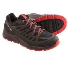 Salomon Synapse Access Hiking Shoes (For Men) in Black/Asphalt/Quick - Closeouts
