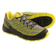 Salomon Synapse Access Hiking Shoes (For Men) in Nile Green/Seaweed Green/Mimosa Yellow - Closeouts