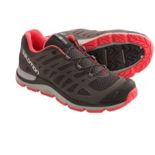 Salomon Synapse Access Hiking Shoes (For Women) in Asphalt/Autobahn/Papaya - Closeouts