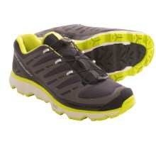 Salomon Synapse CS Trail Shoes - Lightweight (For Men) in Asphalt Green/Grey - Closeouts