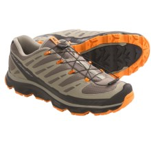 Salomon Synapse Hiking Shoes (For Men) in Swamp/Dark Titanium/Orange - Closeouts