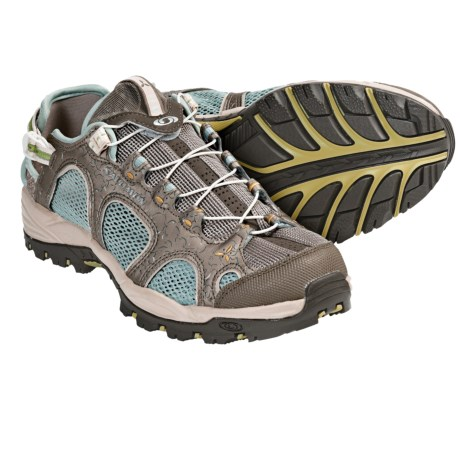 Salomon Techamphibian 2 Mat Shoes (For Women) in Thyme/Eucalyptus