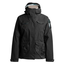 Salomon Temptress Ski Jacket - Insulated (For Women) in Black - Closeouts