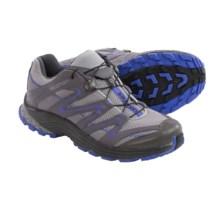 Salomon Trail Score Trail Running Shoes (For Women) in Aluminum/Detroit/Light Spectrum - Closeouts