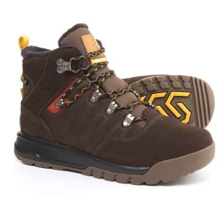 Salomon Utility TS Climashield® Winter Boots - Waterproof, Insulated (For Men) in Trophy Brown/Absolute Brownx/Sunny-X - Closeouts