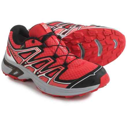 Salomon Wings Flyte 2 Gore-Tex® Trail Running Shoes - Waterproof (For Women) in Red/Onix/Coral - Closeouts