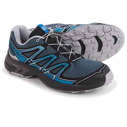 Salomon Wings Flyte 2 Trail Running Shoes (For Men) in Slate Blue/Aluminium/Union Blue - Closeouts