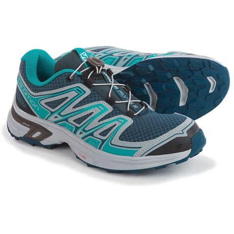Salomon Wings Flyte 2 Trail Running Shoes (For Women) in Slate Blue/Onyx/Teal