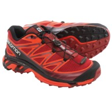 Salomon Wings Pro Trail Running Shoes (For Men) in Flea/Tomato Red/Black - Closeouts