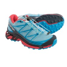 Salomon Wings Pro Trail Running Shoes (For Women) in Air/Blue Line/Papaya - Closeouts