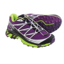 Salomon Wings Pro Trail Running Shoes (For Women) in Cosmic Purple/Passion Purple/Granny Green - Closeouts