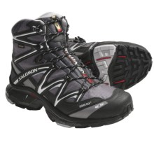 Salomon Wings Sky Gore-Tex® Hiking Boots - Waterproof (For Men) in Autobahn/Black/Aluminum - Closeouts