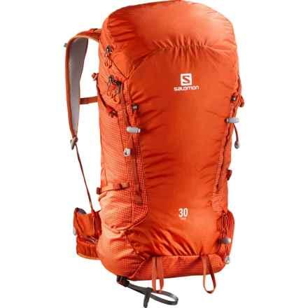 Salomon X Alp 30 Backpack in Solar Orange/Tomato Red - Closeouts