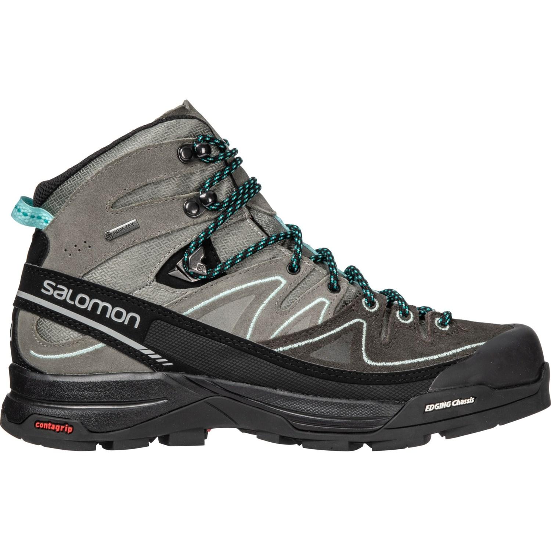 c064c18b03 Salomon X Alp Mid Gore-Tex® Backpacking Boots - Waterproof (For Women)