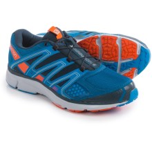 Salomon X-Mission 2 Trail Running Shoes (For Men) in Gentiane/Union Blue/Tomato Red - Closeouts