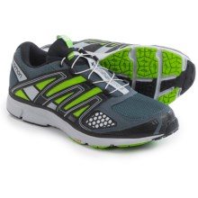 Salomon X-Mission 2 Trail Running Shoes (For Men) in Grey Denim/Light Onix/Spring Green - Closeouts
