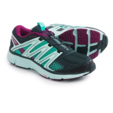 Salomon X-Mission 2 Trail Running Shoes (For Women) in Deep Blue/Igloo Blue/Mystic Purple - Closeouts
