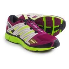 Salomon X-Mission 2 Trail Running Shoes (For Women) in Mystic Purple/Light Grey/Granny Green - Closeouts