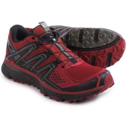 Salomon X-Mission 3 Trail Running Shoes (For Men) in Brique-X/Black/Tempest - Closeouts