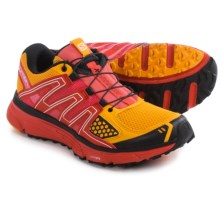 Salomon X-Mission 3 Trail Running Shoes (For Women) in Yellow Gold/Radiant Red/Madder Pink - Closeouts