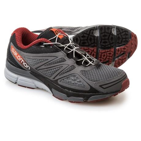 Salomon X-Scream 3D Trail Running Shoes (For Men) in Dark Cloud/Black/Flea
