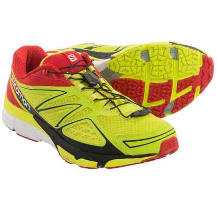 Salomon X-Scream 3D Trail Running Shoes (For Men) in Gecko Green/Bright Red/Black - Closeouts
