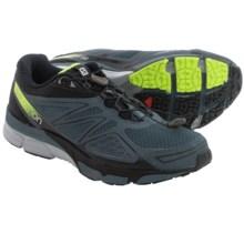 Salomon X-Scream 3D Trail Running Shoes (For Men) in Grey Denim/Black/Flou Yellow - Closeouts
