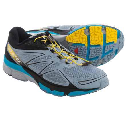 Salomon X-Scream 3D Trail Running Shoes (For Men) in Stone Blue/Black/Boss Blue - Closeouts