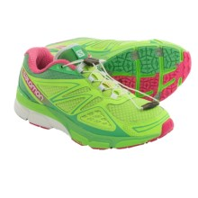 Salomon X-Scream 3D Trail Running Shoes (For Women) in Firefly Green/Wasabi/Hot Pink - Closeouts