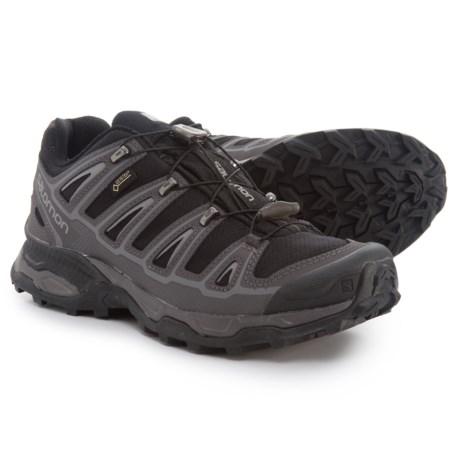 Salomon X Ultra 2 Gore-Tex® Hiking Shoes - Waterproof (For Men) in Black/Autobahn/Pewter