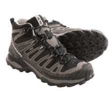 Salomon X Ultra Mid Gore-Tex® Hiking Boots - Waterproof (For Women) in Black/Detroit/Aluminum - Closeouts