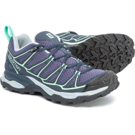 d2853b24da Salomon X Ultra Prime Hiking Shoes (For Women) in Artist Grey-X/