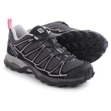 Salomon X Ultra Prime Hiking Shoes (For Women) in Autobahn/Black/Sakura Pink - Closeouts