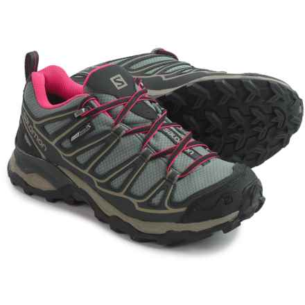 Salomon X Ultra Prime Hiking Shoes (For Women) in Titanium/Asphalt - Closeouts