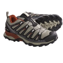 Salomon X Ultra Trail Shoes (For Men) in Dark Titanium/Black/Red - Closeouts