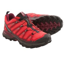 Salomon X Ultra Trail Shoes (For Women) in Papaya-B/Dynamic/Bordeaux - Closeouts