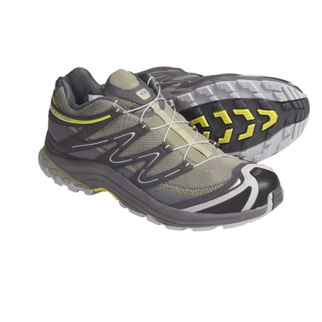 Salomon XA Comp 4 Trail Running Shoes (For Women) in Light Clay/Autobahn