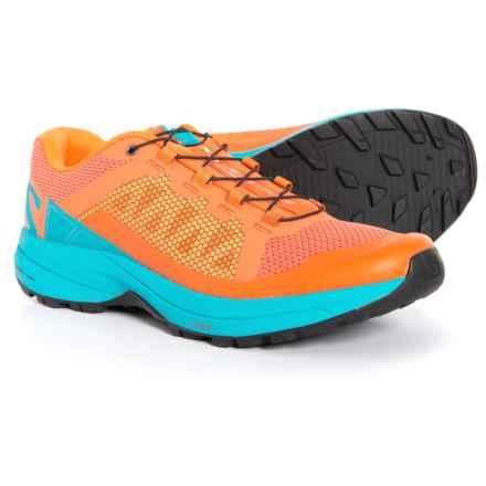 Salomon XA Elevate Trail Running Shoes (For Women) in Nasturtium/Blue Bird/Black