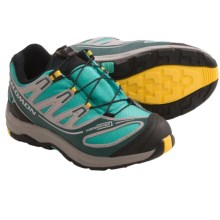 Salomon XA Pro 2 WP K Trail Shoes - Waterproof (For Youth) in Morrea Blue/Blue/Yellow - Closeouts