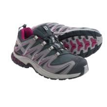 Salomon XA Pro 3D Gore-Tex® Shoes - Waterproof (For Women) in Grey Denim/Pearl Grey/Mystic Purple - Closeouts