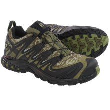 Salomon XA Pro 3D Gore-Tex® Trail Running Shoes - Waterproof (For Men) in Camo Dark Khaki/Black/Iguana Green - Closeouts
