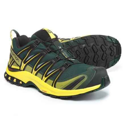 Salomon XA Pro 3D Gore-Tex® Trail Running Shoes - Waterproof (For Men) in Darkest Spruce/Sulphur Spring/Black - Closeouts