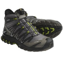 Salomon XA Pro 3D Mid Gore-Tex® Hiking Boots - Waterproof (For Men) in Swamp/Black - Closeouts
