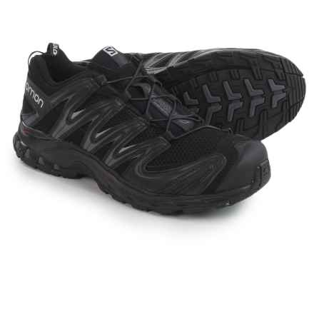 Salomon XA Pro 3D Trail Running Shoes (For Men) in Black/Black/Dark Cloud - Closeouts