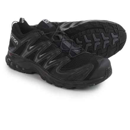 Salomon XA Pro 3D Trail Running Shoes (For Men) in Black/Black/Dark Cloud - Closeouts