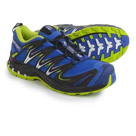 Salomon XA Pro 3D Trail Running Shoes (For Men) in Cobalt/Process Blue/Green - Closeouts